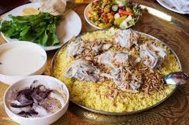 Mansaf- Tradrional Jordanian Food