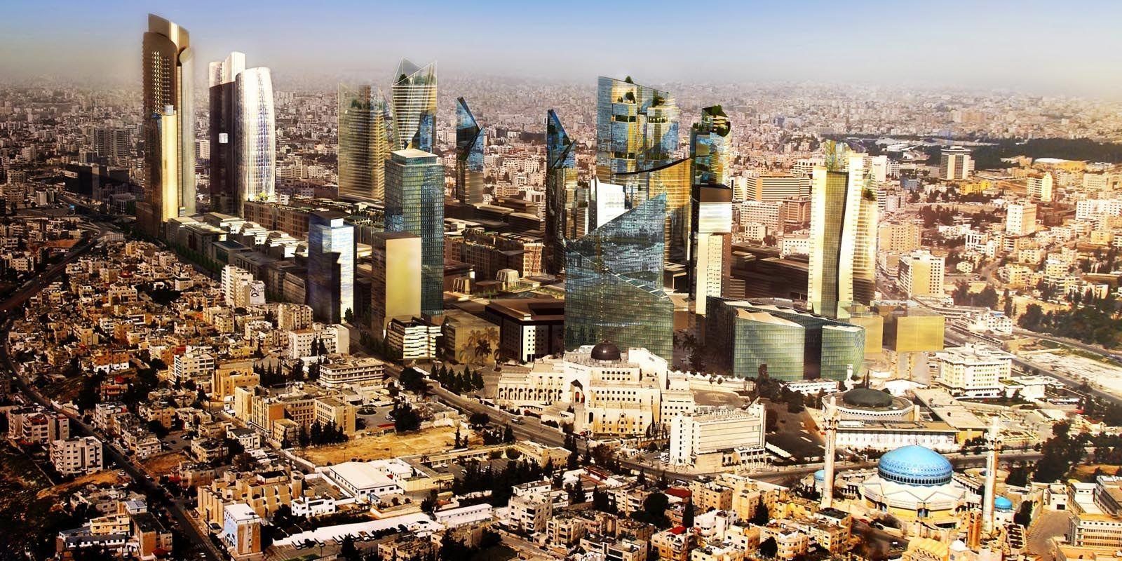 A view for Al Abdali- Amman