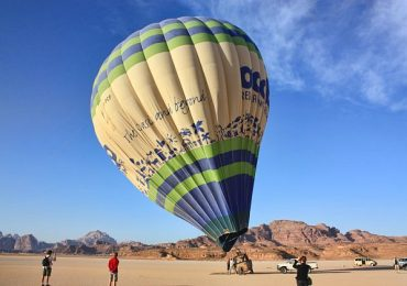 Hot Air Balloon- Wadi Rum