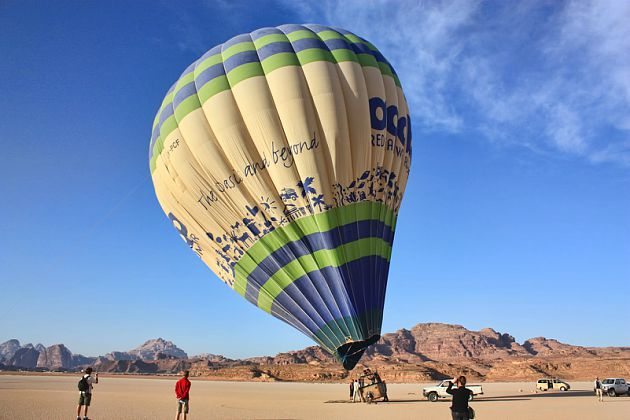 Hot Air Balloon- Wadi Rum