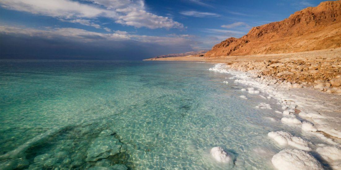 Salt formation Dead Sea