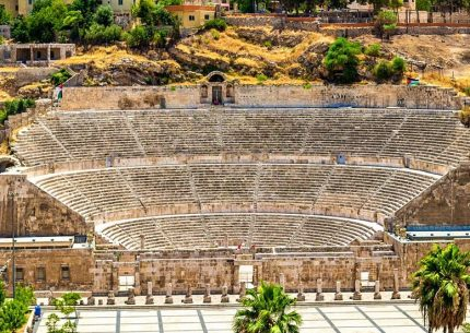 The Roman Theatre Amman
