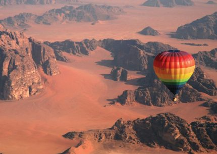 Hot Air Balloon Wadi Rum