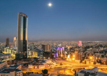 Amman at night