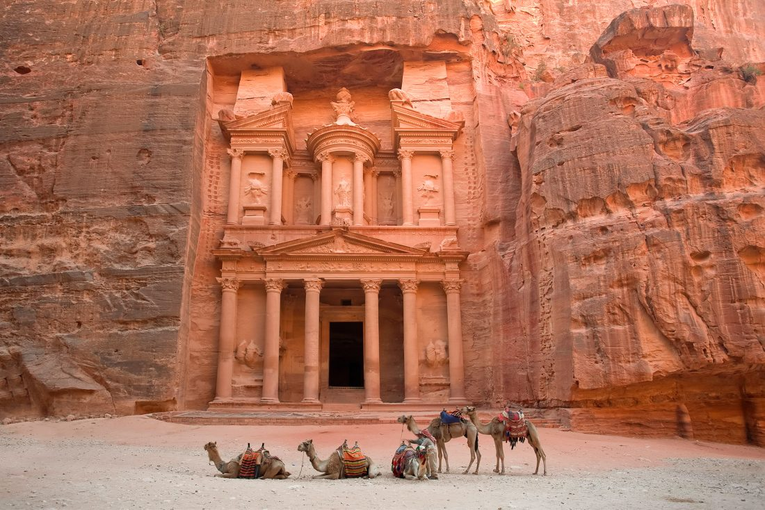The Treasury (Al Khazneh), Petra